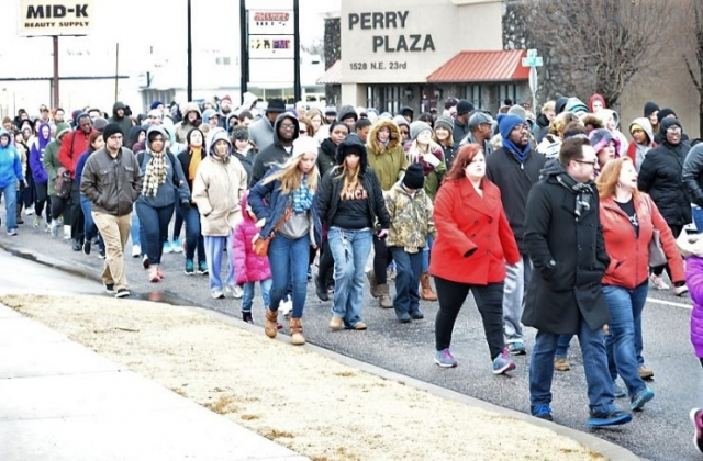 Silent March - Perry Plaza