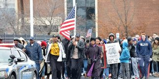 Silent march - History Center
