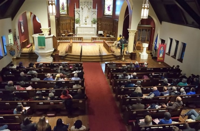 Service at St. Paul's Episcopal Cathedral