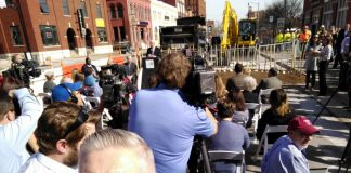 Brett Dickerson - Streetcar groundbreaking