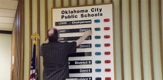 Changing the vote board
