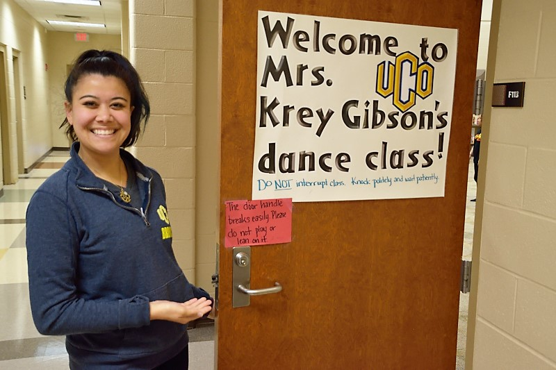 Mrs. Krey Gibson, dance teacher at Douglass Mid-High