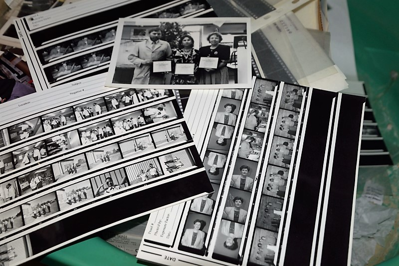 Photo lab - contact prints