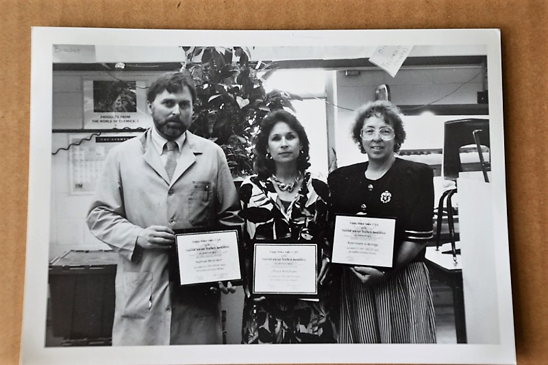 Found in the photo lab - awards