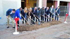 Ground breaking - NE 23rd St Clinic Project