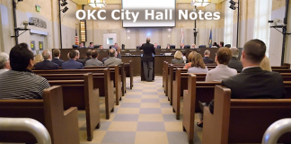 OKC City Hall Notes, parking