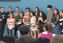 Cine Latino Film Festival Youth workshop students