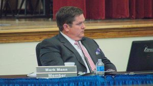 Board member Mark Mann made the most pointed comments of an board member about split-grade plans