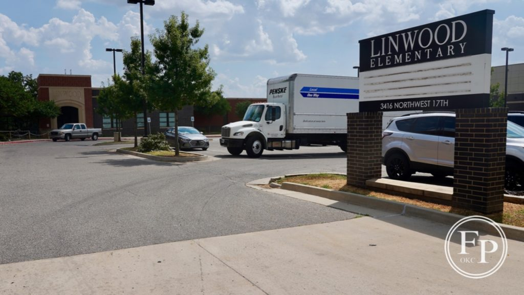 Linwood move in from Taft Middle School