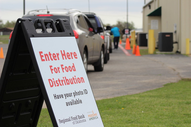 Regional Food Bank donation site